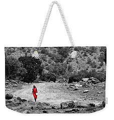 Weekender Tote Bag featuring the photograph Walk  by Charuhas Images