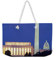 Washington Dc Weekender Tote Bag by Panoramic Images