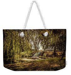 Weekender Tote Bag featuring the photograph Water Cascade by Ryan Photography