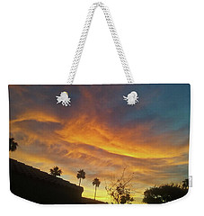 Water Colored Sky Weekender Tote Bag
