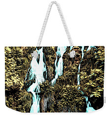 Waterfall Painting Weekender Tote Bag