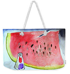 Watermelon Weekender Tote Bag by Jamie Frier