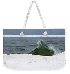 Waves Of Lake Michigan Weekender Tote Bag