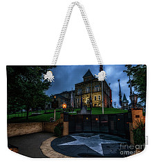 Weekender Tote Bag featuring the photograph Webster County Courthouse by Thomas R Fletcher