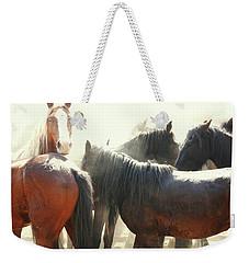 Wild Horses - Australian Brumbies 3 Weekender Tote Bag