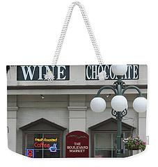 Wine And Chocolate Weekender Tote Bag