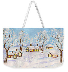 Winter Landscape, Painting Weekender Tote Bag