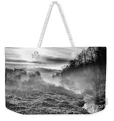 Weekender Tote Bag featuring the photograph Winter Mist by Thomas R Fletcher