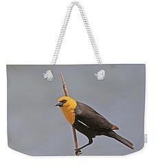 Yellow Headed Blackbird Weekender Tote Bag