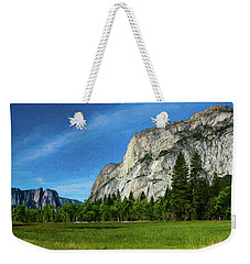 Yosemite Valley Meadow Panorama Weekender Tote Bag