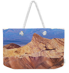 Weekender Tote Bag featuring the photograph Zabriskie Point by Catherine Lau