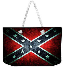 Weekender Tote Bag featuring the photograph Confederate Flag by Les Cunliffe