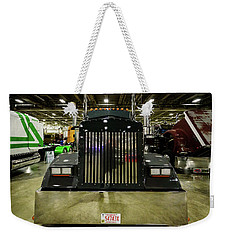 Weekender Tote Bag featuring the photograph 2000 Kenworth W900 by Randy Scherkenbach