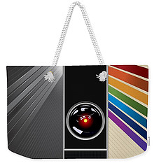 2001 A Space Odyssey Poster Print - No 9000 Computer Has Ever Made A Mistake Weekender Tote Bag