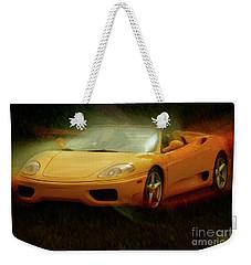 2003 Ferrari 360f1 Weekender Tote Bag