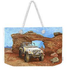 2005 Jeep Rubicon 4 Wheeler Weekender Tote Bag