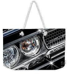 Weekender Tote Bag featuring the photograph 2009 Dodge Challenger by Brad Allen Fine Art