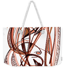 2010 Abstract Drawing Five Weekender Tote Bag by Lynne Taetzsch