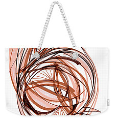 2010 Abstract Drawing Six Weekender Tote Bag by Lynne Taetzsch