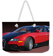 2010 Bugatti Veyron E. B. Sixteen Weekender Tote Bag by Jack Pumphrey