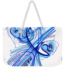 2010 Drawing Four Weekender Tote Bag by Lynne Taetzsch