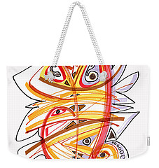 2010 Drawing Three Weekender Tote Bag by Lynne Taetzsch
