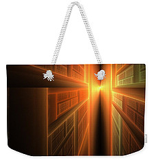 2011 A Fractal Odyssey Weekender Tote Bag by Lyle Hatch