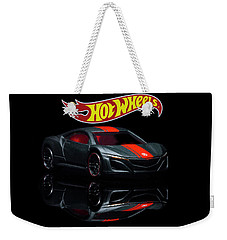 Weekender Tote Bag featuring the photograph 2012 Acura Nsx-2 by James Sage