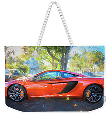 2014 Mclaren Mp4 12c Spider C196 Weekender Tote Bag