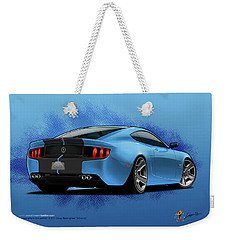 2014 Stang Rear Weekender Tote Bag