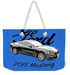 2015 Ford Mustang Weekender Tote Bag