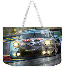 2015 Le Mans Gte-am Porsche 911 Rsr Weekender Tote Bag