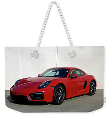 2015 Porsche Cayman Gts Weekender Tote Bag by Tim McCullough