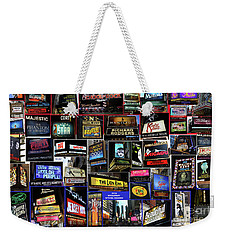 2016 Broadway Spring Collage Weekender Tote Bag