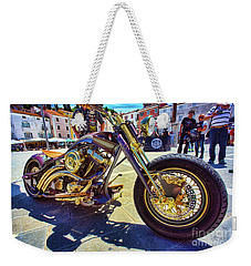 2016 Custom Harley Winner Weekender Tote Bag by Graham Hawcroft pixsellpix