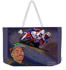 2016 Fim Superbike Nicky Hayden Weekender Tote Bag