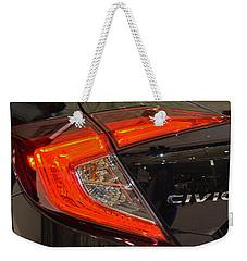 2016 Honda Civic Tail Light Weekender Tote Bag
