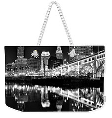 Weekender Tote Bag featuring the photograph 2017 Charcoal 8x10  by Frozen in Time Fine Art Photography