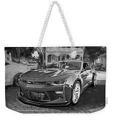 2017 Chevrolet Camaro Ss2 Bw Weekender Tote Bag by Rich Franco