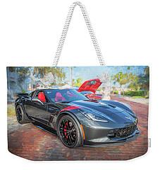 2017 Chevrolet Corvette Gran Sport  Weekender Tote Bag by Rich Franco