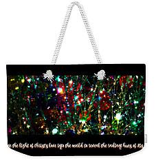 2017 Christmas Card 2 Weekender Tote Bag