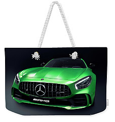 2017 Mercedes Amg Gt R Coupe Sports Car Weekender Tote Bag