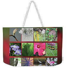 2017 Nature Calendar Weekender Tote Bag by Peg Toliver