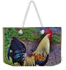 2017 Rooster Weekender Tote Bag by Craig Wood