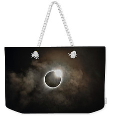 2017 Solar Eclipse Exit Ring Weekender Tote Bag