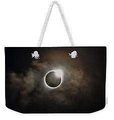 2017 Solar Eclipse Exit Ring Weekender Tote Bag