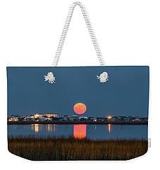 2017 Supermoon Weekender Tote Bag