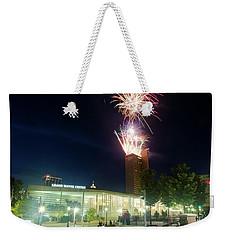 2017 Three Rivers Festival Aep Fireworks Weekender Tote Bag