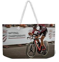 2017 Time Trial Champion Weekender Tote Bag