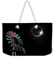 2017 Total Eclipse Central Nebraska Weekender Tote Bag